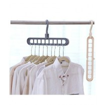 HR Business 9-Hole Clothes Hanger Pack Of 3