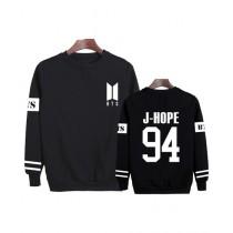 HS Store BTS Sweat Shirt For Unisex Black (0275)