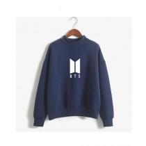 HS Store BTS Sweat Shirt For Unisex Blue (0261)