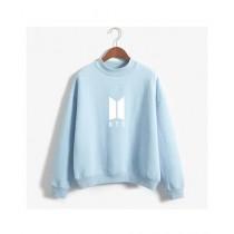 HS Store BTS Sweat Shirt For Unisex Sky Blue (0264)