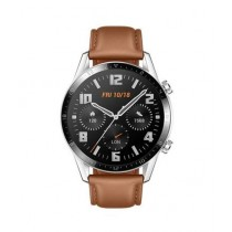 Huawei GT2 46mm Leather Smartwatch Brown