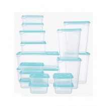 Hunza Mart Food Containers Home Box Feast 17 Piece  - Blue