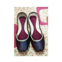 Ibrahim Shoes Leather Khussa For Women (0005)