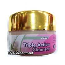 Ideal Department Chandan Gold Whitening Triple Action Cleanser