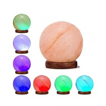 IGAAI Himalayan Crystal Rock Salt Lamp