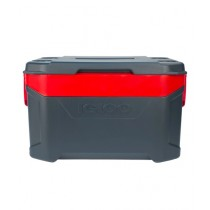 Igloo Latitude 50 Qt Traveling Cooler Gray/Red (49733)