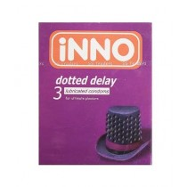 INNO Dotted Delay Lubricated Condom 3 - 1