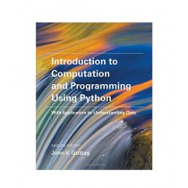 Introduction to Computation and Programming Using Python Book 2nd Edition
