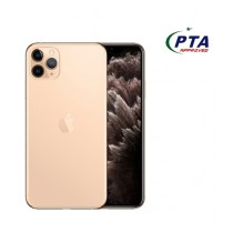 Apple iPhone 11 Pro Max 256GB Dual Sim Gold - Official Warranty
