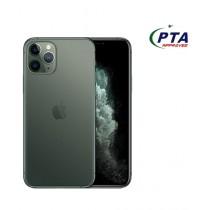 Apple iPhone 11 Pro 256GB Dual Sim Midnight Green - Official Warranty