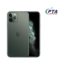 Apple iPhone 11 Pro Max 64GB Dual Sim Midnight Green - Official Warranty