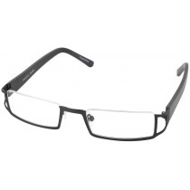c9a4ed3132e Seattle Eyeworks 808 Single Vision Half Frame - Matte Black