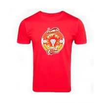 Sale Out PSL Islamabad United Half Sleeves T-Shirt Red