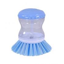Israr Mall Soap Dispenser Dish Cleaning Brush Blue