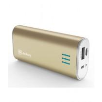Jackery Bar 6000mAh Portable External Battery Charger Gold