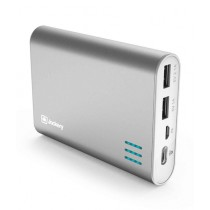 Jackery Giant + 12000mAh Portable External Battery Charger Silver