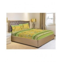 Jamal Home Double Bed Sheet With 4 Pillow (0115)