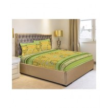 Jamal Home Double Bed Sheet With 4 Pillow (0119)