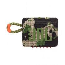 JBL GO 3 Waterproof Portable Bluetooth Speaker Squad