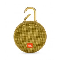 JBL Clip 3 Waterproof Portable Bluetooth Speaker Mustard Yellow