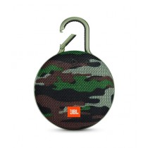 JBL Clip 3 Waterproof Portable Bluetooth Speaker Squad