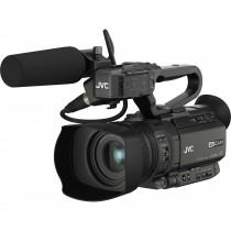 JVC 4KCAM Compact Handheld Streaming Camcorder (GY-HM200)
