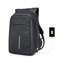 "Kaka 15.6"" Anti Theft Laptop Backpack Black (17012)"