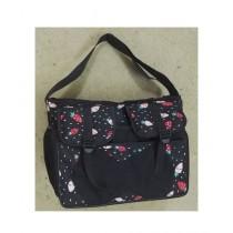 Kanyal School Bag For Girls - Black