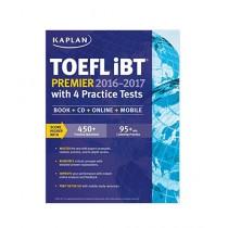 Kaplan TOEFL iBT Premier 2016-2017 with 4 Practice Tests Book