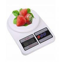 Karachi Shop Electronic Kitchen Scale White