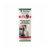 Karachi Shop Masood HR9 For Relieving Headache & Migraine 20ml