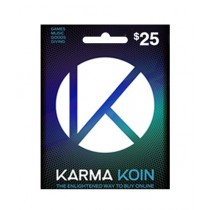 Karma Koin Global Gift Card $25 - Email Delivery