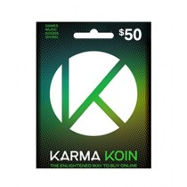 Karma Koin Global Gift Card $50 - Email Delivery