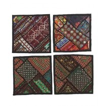 Karni Crafts Traditional Cushion Covers Set of 4 (0002)