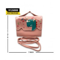 Kayazar Horizontal Mobile Pouch Cool Dude Glitter Pink (9126808)