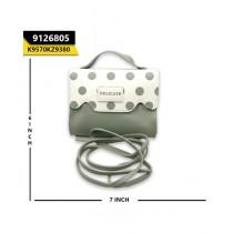 Kayazar Horizontal Mobile Pouch Polka Dot Grey (9126805)