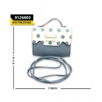 Kayazar Horizontal Mobile Pouch Polka Dot Sky Blue (9126803)