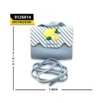 Kayazar Horizontal Mobile Pouch Sky Blue Lemon (9126814)