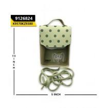 Kayazar Vertical Mobile Pouch Polka Dot Green (9126824)