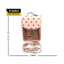 Kayazar Vertical Mobile Pouch Polka Dot Pink (9126827)