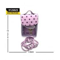 Kayazar Vertical Mobile Pouch Polka Dot Purple (9126825)