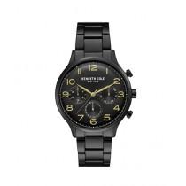 Kenneth Cole Stainless Steel Men's Black Watch (KC15185001)