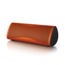 KEF MUO Wireless Speaker Sunset Orange