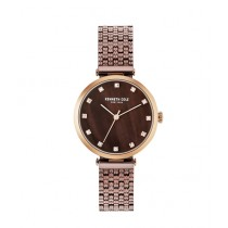 Kenneth Cole Analog Women's Watch Brown (KC50256005)