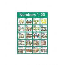 Kharedloustad A4 Size Learning Wall Sticker (0137)