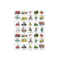 Kharedloustad A4 Size Learning Wall Sticker (0139)