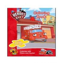 Kharedloustad Kids Vehicle Coloring Book