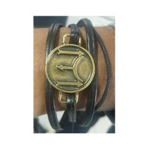 Kharedloustad Ottoman Empire Signature Kayı IYI Bracelet For Men Black