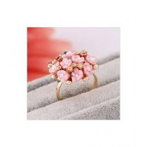 Kharedloustad Ceramic Flower Ring (U005586)