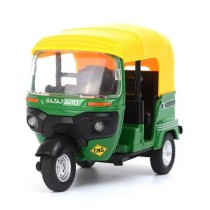 Kharedloustad Die-Cast Auto Rickshaw Toy For kids